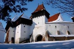 viscri села крепости romani Стоковое фото RF