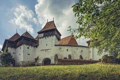 Ενισχυμένη εκκλησία σε Viscri, Ρουμανία Στοκ φωτογραφίες με δικαίωμα ελεύθερης χρήσης