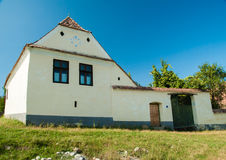 Viscri-Dorf und Wehrkirche von Viscri, Siebenbürgen, ROM Stockbilder