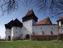 Viscri Festung lizenzfreie stockfotografie
