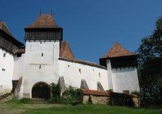 Viscri fortificó la iglesia Imagen de archivo