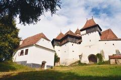 Viscri fortificó la iglesia Fotos de archivo libres de regalías