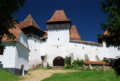 Viscri fortified church, Transylvania, Romania Stock Image