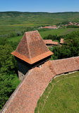 Viscri fortified church, Transylvania, Romania Royalty Free Stock Photo
