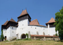 Viscri fortified church, Transylvania, Romania Stock Photography