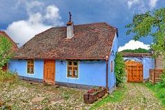 Viscri, Roemenië Stock Foto's