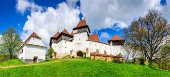 Viscri, Roemenië stock fotografie