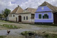 Viscri, romania, europe, housing Stock Image