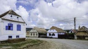 Viscri, romania, europe, housing Royalty Free Stock Photo