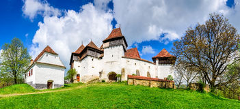 Viscri, Romania stock photography