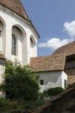 Viscri verstärkte Kirche lizenzfreies stockfoto