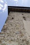 Viscri verstärkte Kirche stockfotografie