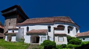 Viscri, verstärkte Kirche in Rumänien lizenzfreies stockfoto