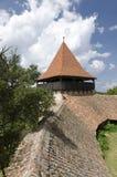 Viscri versterkte kerk royalty-vrije stock foto's