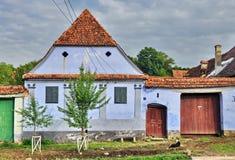 Viscri village Royalty Free Stock Images