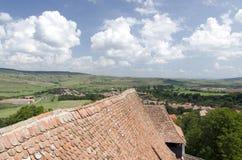 Viscri village Royalty Free Stock Photos