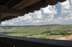 Viscri village Royalty Free Stock Image