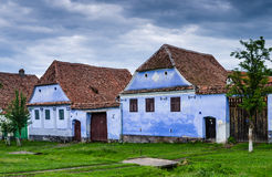 Viscri village in Transylvania, Romania stock photo