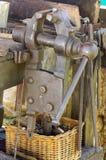 Vise  blacksmith Stock Images