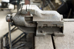 Iron vise Royalty Free Stock Photography