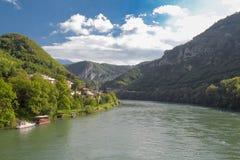 Visegrad Bosnien och Herzogovina royaltyfri bild