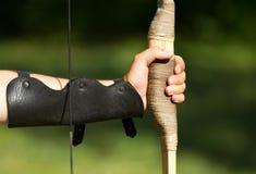 Viser des archers Images libres de droits