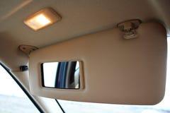 Visera de la protección de la luz del sol del coche Fotografía de archivo libre de regalías
