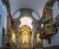 Viseu,葡萄牙Igreja da Misericordia教会  库存图片