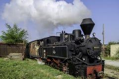 Viseu de Sus, Rumänien, Europa stazione mocanita lizenzfreie stockfotografie