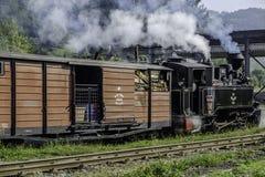 Viseu de Sus, Rumänien, Europa stazione mocanita lizenzfreies stockbild