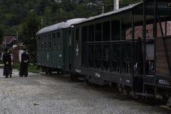Viseu de Sus, Rumänien, Europa stazione mocanita stockbild