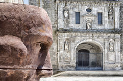 Viseu-Kathedrale, Portugal Stockbilder