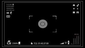 Viseur d'appareil-photo banque de vidéos