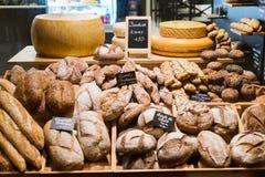 Viseur de bonbons à pâtisserie de pain de boulangerie images stock