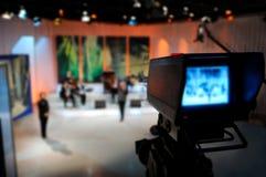Viseur de caméra vidéo Images libres de droits