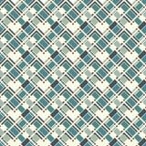 Visgraatbehang Naadloos oppervlaktepatroon met herhaalde rechthoekige tegels Geometrisch ornament met zigzagstreep royalty-vrije illustratie