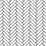 Visgraatpatroon Rechthoeken rond gemaakte tessellation van hoekplakken met het witte hellingsblokken betegelen De bakstenen van d stock illustratie