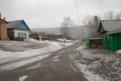 Vishnevogorsk村庄 免版税库存图片