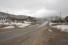 Vishnevogorsk-Dorf Stockfoto