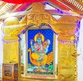 Vishnu寺庙  免版税库存照片