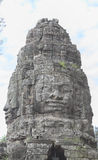 Vishnu楣石吴哥Bayon 库存图片