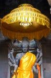 Vishnu雕象,吴哥窟 库存图片