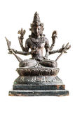 Vishnu雕象 库存照片