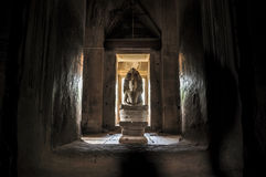 Vishnu, Phanom敲响了历史公园 图库摄影