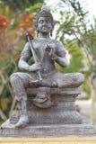Vishnu är guden av Hinduism arkivfoton