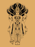 Vishnu Stock Photography