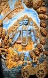 Vishnu del señor fotografía de archivo