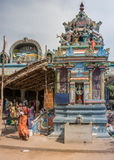 Vishnu-Durga shrine at Amma Mandapam. Stock Images