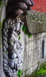 Vishnu e Shesha Fotografia Stock
