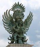 Vishnu et Garuda Image libre de droits